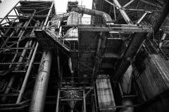 Fábrica de la acería de China Pekín Shougang Fotos de archivo
