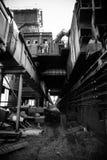 Fábrica de la acería de China Pekín Shougang Imagen de archivo libre de regalías