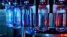 Fábrica de la botella de agua metrajes