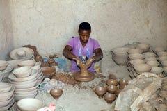 Fábrica de la cerámica Fotografía de archivo libre de regalías