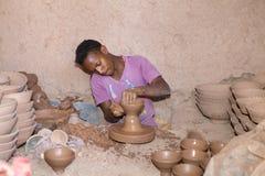 Fábrica de la cerámica Imagen de archivo libre de regalías