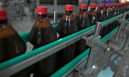 Fábrica de la cerveza Fotografía de archivo