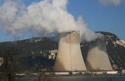 Fábrica de la contaminación Imagenes de archivo