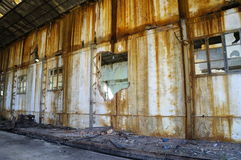 Fábrica de la explotación minera Fotografía de archivo libre de regalías