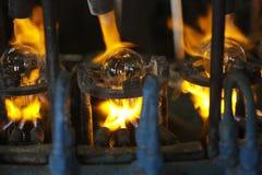 Fábrica de la lámpara eléctrica Fotos de archivo