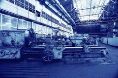 Fábrica de la maquinaria imagen de archivo