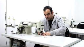 fábrica de la materia textil almacen de video