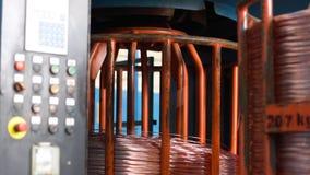 Fábrica de la producción del cable metrajes