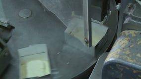 Fábrica de la producción de mantequilla metrajes