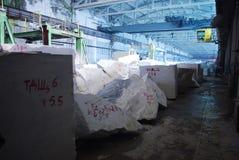 Fábrica de mármore Fotos de Stock Royalty Free