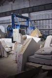 Fábrica de mármore Fotos de Stock