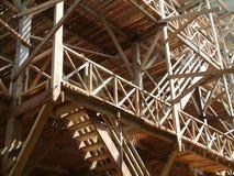 Fábrica de madeira imagens de stock royalty free