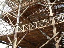 Fábrica de madeira foto de stock