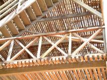 Fábrica de madeira fotografia de stock
