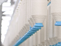 Fábrica de matéria têxtil Foto de Stock Royalty Free