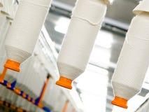 Fábrica de matéria têxtil Fotos de Stock