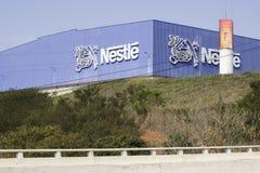 Fábrica de Nestle Imágenes de archivo libres de regalías