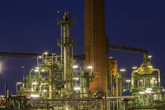 Fábrica de productos químicos Imagenes de archivo