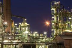 Fábrica de productos químicos Foto de archivo libre de regalías