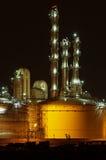 Fábrica de productos químicos Imagen de archivo libre de regalías