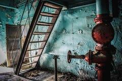 Fábrica de productos químicos de Krasnoyarsk Yenisei Fotografía de archivo libre de regalías