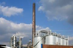 Fábrica de productos químicos de la compañía malasia KLK al óleo foto de archivo
