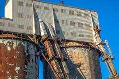 Fábrica de productos químicos industrial Foto de archivo