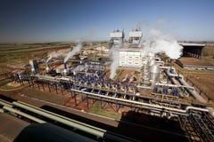 Fábrica de tratamento industrial do moinho do cana-de-açúcar em Brasil Imagem de Stock