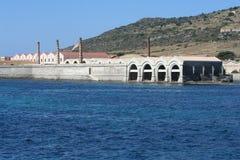 Fábrica del atún en Favignana Imagenes de archivo