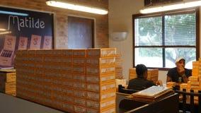 Fábrica del cigarro en el La Romana, República Dominicana fotos de archivo libres de regalías