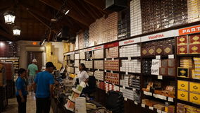 Fábrica del cigarro en el La Romana, República Dominicana imagen de archivo libre de regalías