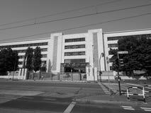 Fábrica del coche de los automóviles de Fiat Mirafiori Chrysler (FCA) en Turín i imagenes de archivo