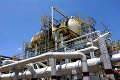 Fábrica del gas Fotografía de archivo libre de regalías