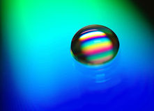 Fábrica do arco-íris fotografia de stock