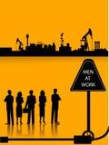Fábrica do petróleo Imagens de Stock