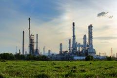 Fábrica do produto químico e do petróleo Fotos de Stock Royalty Free