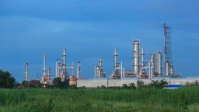 Fábrica do produto químico e do petróleo video estoque