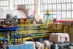 Fábrica do projeto industrial imagem de stock