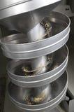 Fábrica en la fabricación de la harina fotos de archivo