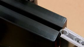 A fábrica farmacêutica do transporte produziu o empacotamento de empacotamento da medicina dos tubos de ensaio das seringas dos p filme