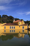 Fábrica histórica de la pólvora de Oeiras Foto de archivo