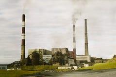 Fábrica industrial Imagens de Stock