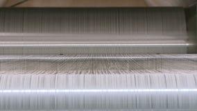 Fábrica industrial de la materia textil Producción de la tela metrajes