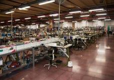Fábrica italiana de la ropa Fotos de archivo