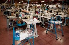 Fábrica italiana de la ropa Imagen de archivo libre de regalías