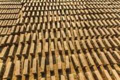 Fábrica local no local do tijolo Imagens de Stock