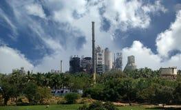 Fábrica moderna, Kerala, la India del sur Imagen de archivo libre de regalías