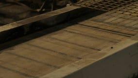 Fábrica para a produção de blocos de cimento e de pedras de pavimentação filme