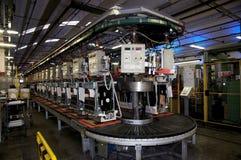 Fábrica - producción del lavaplatos Fotografía de archivo