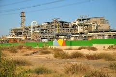 Fábrica química. Imagem de Stock